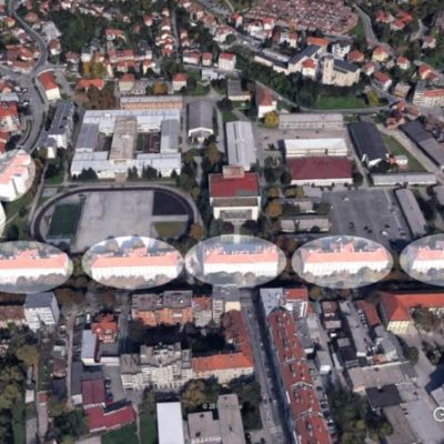 Zagreb - vojarna Črnomerec